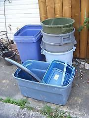 Garbage Pails And Totes B
