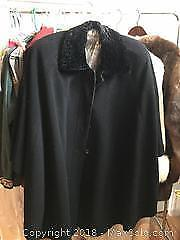 Wool and Cashmere cape A
