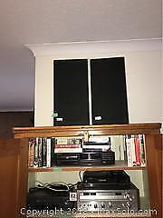 Pioneer Receiver, CD Player, And Speakers B