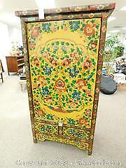 Painted Wood Cabinet B