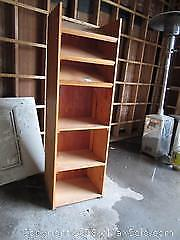 F. Wood Display Shelf B