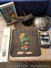 Marvin the Martian, Simpsons clocks and more