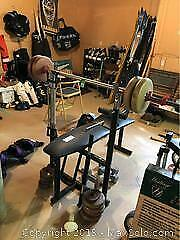 Weight Bench Set B