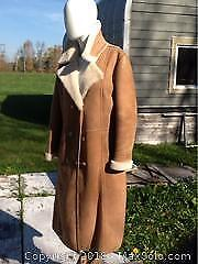 Ladies Sheep Skin Coat