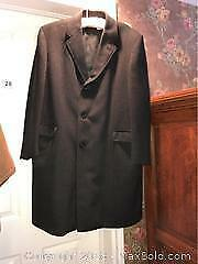 Mens Wool And Cashmere Coat A