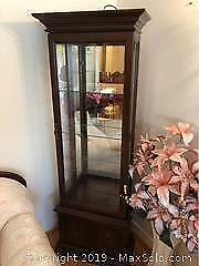 Lighted Curio Cabinet C