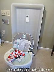 Baby Chair And Under Bed Storage B