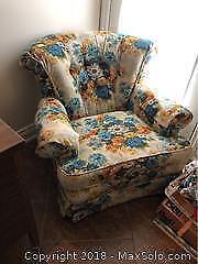 Vintage Retro Sofa And Chair C