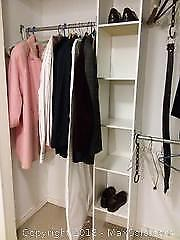 Closet with Men's Clothes and More A