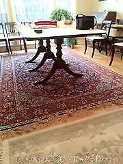 Large Wool Area Rug C