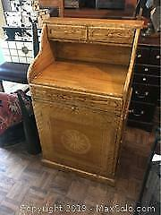 Yellow Antique Reproduction chest