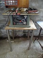 Table Saw With Stand C