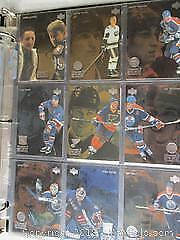Complete Set Of McDonald's Acetate Cards From 1998-99. Set Of Wayne Gretzky Teammates Set.