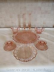 Pink Glassware A