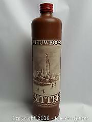 Cafe Watersport .Maybe old liquor bottle from the Netherlands marked NIEUWKOOPS BITTER