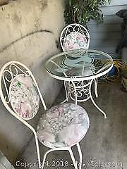 Bistro Table and Chairs C