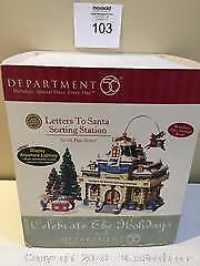 "Brand New Department 56 North Pole Series ""Letters To Santa Sorting Station"""
