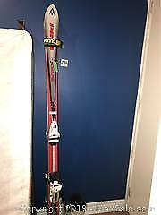 Downhill Skis And Boots - B