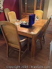 Dining Table and Chairs B