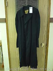 Vintage Canadian Military Raincoat -A