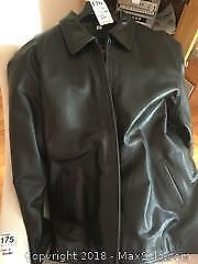 Mens Olde Hide House Leather Coat A
