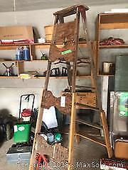 Wooden Ladder- B