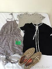 Size small lot of clothes BCBG, Zara and Ked A