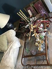 Rattan Coffee Table and End Table B