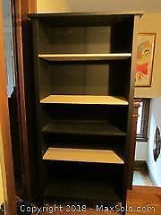 Black Bookcase - Cat C