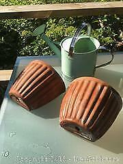 Clay Wall Pots and Watering Can