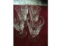 Edinburgh Crystal Sherry Glasses - Appin Design - Set of Six