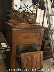 Vintage Wooden Ice Chest C