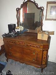 Antique Dresser D