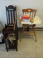 Vintage Chairs And Medical Aids B