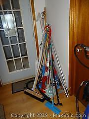 Brooms, Curtain Rods And More A