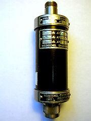 Weinschel 11-6 Attenuator N Conn Fm Tested Good