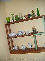Tea Cups And Glass A