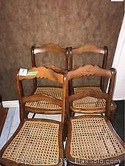 Wood Chairs A