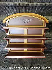 Franklin Mint Die Cast Classic Cars of The 1950s Display Shelf