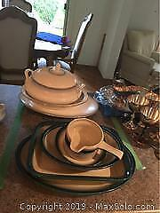 Royal Doulton and Wedgwood Serving Dishes A
