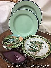 Plates and Candy Dish C