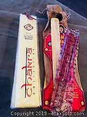 Chakra Collection Incense, incense holder, Om Shanti Incense with holder