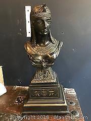 Bronze Statue of Cleopatra Pickup A