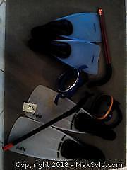 Snorkeling equipment Category A Pickup