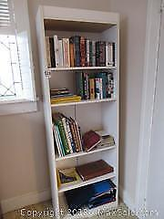 Bookcase And Contents C