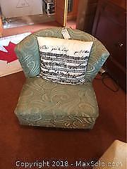 Vintage Swivel Chair- B