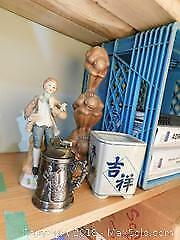 Beer Stein, Lighter, Figurines, And More.