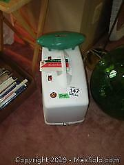 Singer Sewing Machine with Case and Buttonholer A