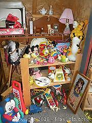 Toys mostly Vintage Mickey Mouse, Fisher Price and more