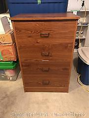 Dresser With Contents